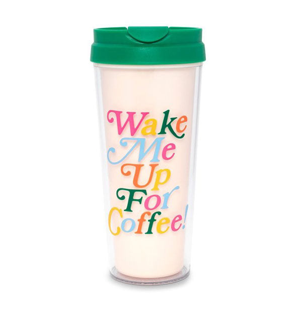ban.do - Deluxe Hot Stuff Thermal Mug: Wake Me Up For Coffee