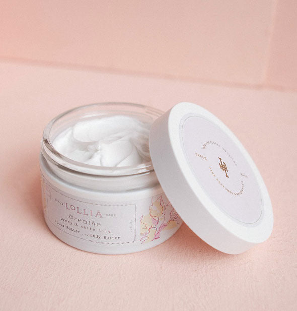 peony and white lily whipped body butter
