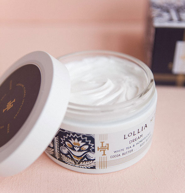 white tea and honeysuckle  Dream Whipped Body Butter