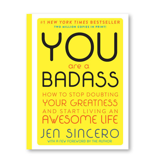 Cover of the deluxe edition of You Are a Badass by Jen Sincero