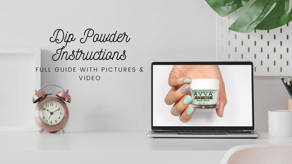 Dip Powder Instructions Tutorial Video Pictures