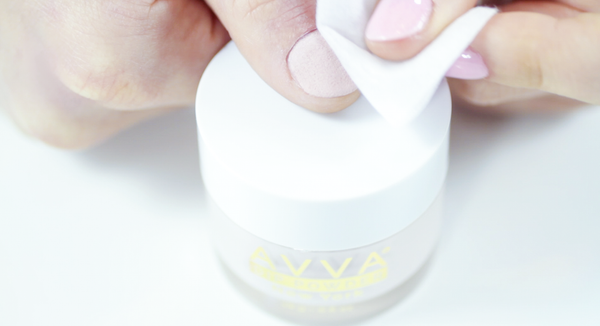 How to use AVVA Dip Powder Kit for a Nude Manicure 10