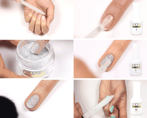 How To Apply Dip Powder