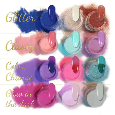 AVVA Nails Dip Powder Color Collection