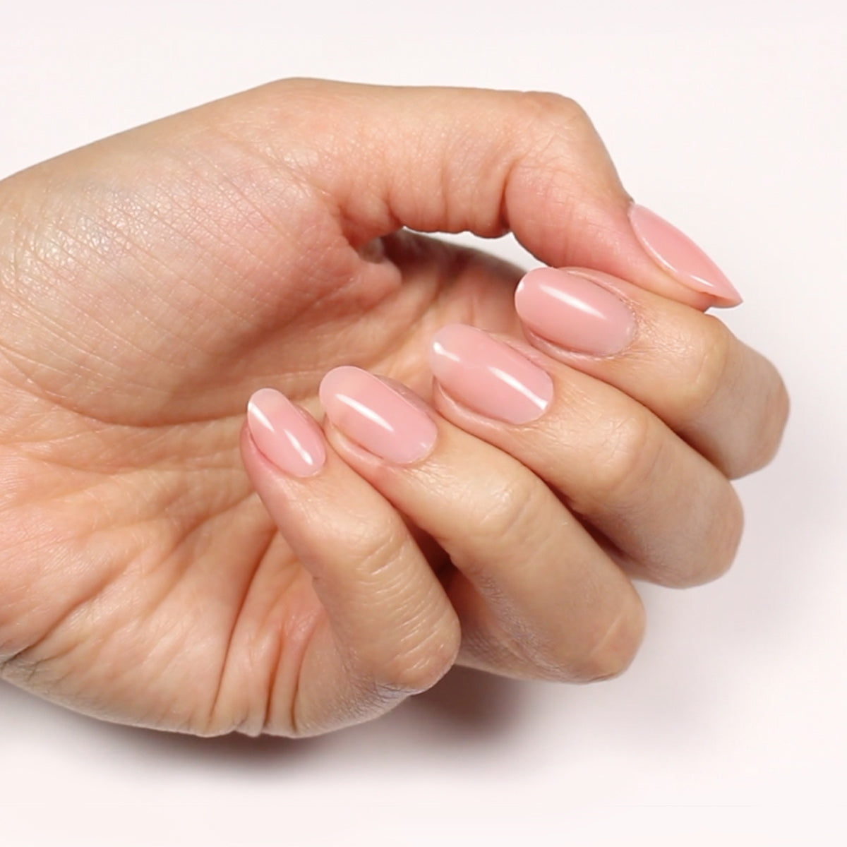 DIY Nail Gel Extension - Natural Pink