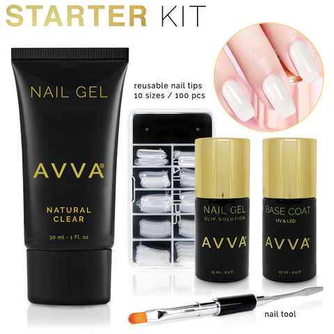 DIY Nail Gel Extensions STARTER Kit