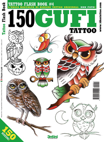 150 Owl Tattoos