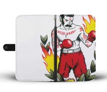 RFID protection Wallet Case - On Fire