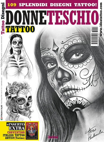 Skull Woman Tattoos