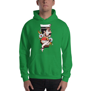 Ship's Captain Hooded Sweatshirt