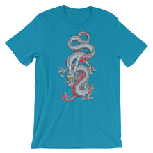 Light Blue Japanese Dragon