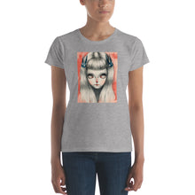 Ice eyes Women's short sleeve t-shirt