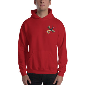 Love Swallow Hooded Sweatshirt