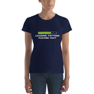 Loading tattoos (Green) Women's short sleeve t-shirt