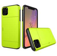 Glide Credit Card Armor Case for iPhone 11, iPhone 11 Pro, & iPhone 11 Pro Max For iPhone 11 Pro / Green - CpuWarehouse.net