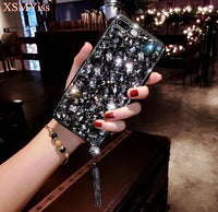 Luxury 3D Diamond Rhinestone iPhone Cover Case For iPhone 11 / Black - CpuWarehouse.net