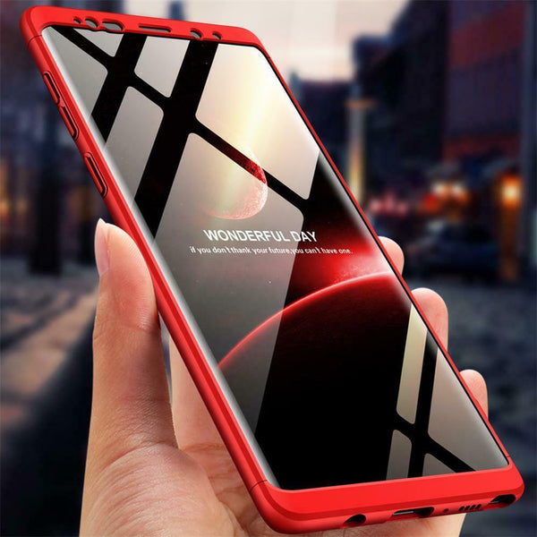 Full 360 Ultra Thin Protective Case with Screen Protector For Samsung Galaxy Phones - CpuWarehouse.net Cell Phone Cases