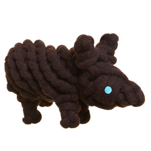 Outback Tails - Wally the Wombat Eco Friendly Dog Chew Toy