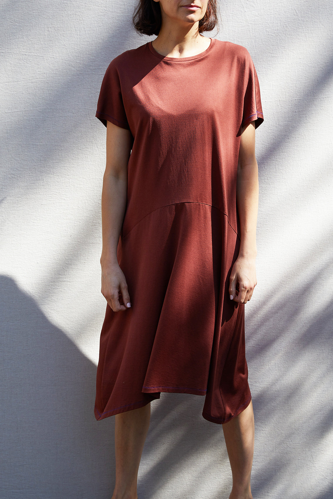 Suelto Dress – Terracota