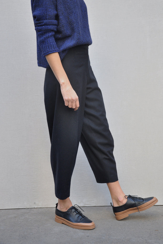 Vaina Wool Pant – Medianoche