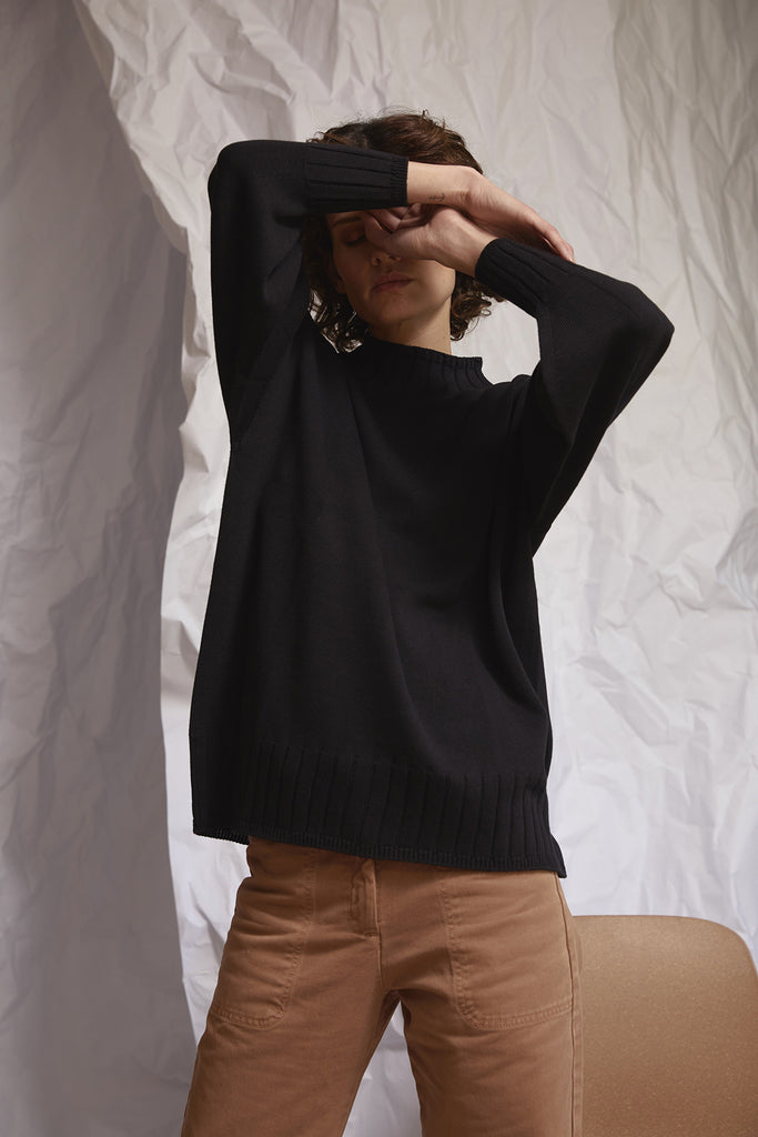 3D Largo Sweater – Black