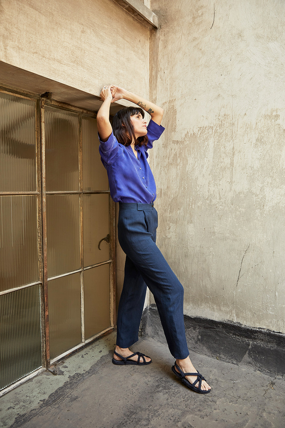 Recto Pants - Azul