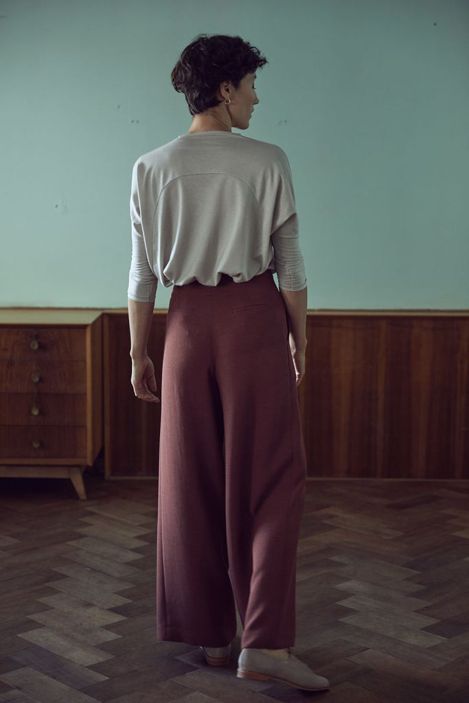 Alto Pants - Dark Marsala