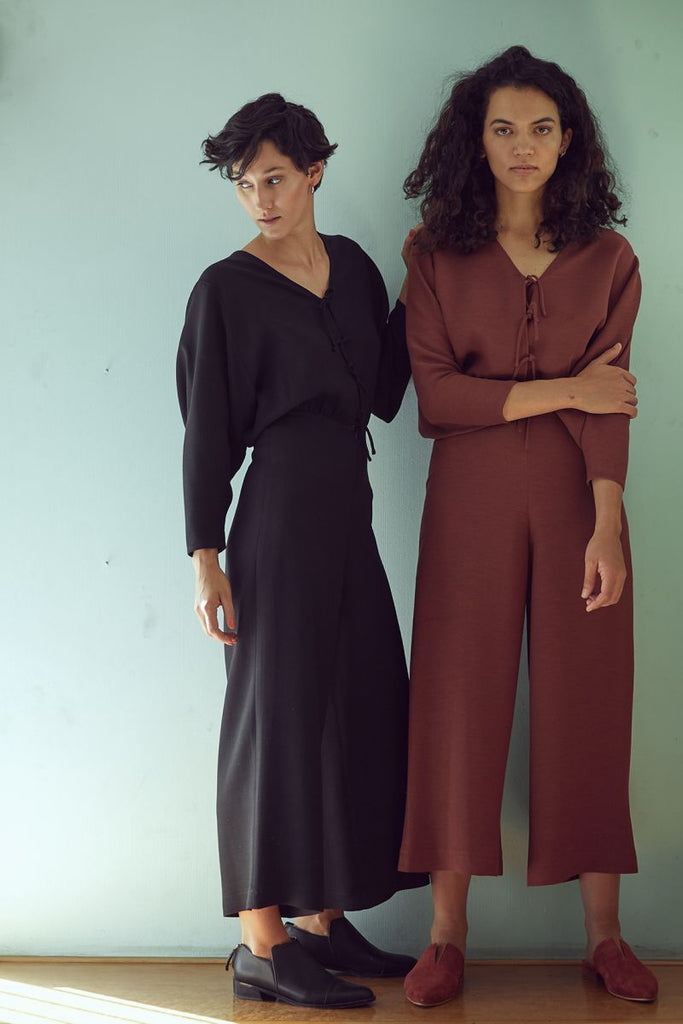 Ablusonado Jumpsuit - Dark Marsala