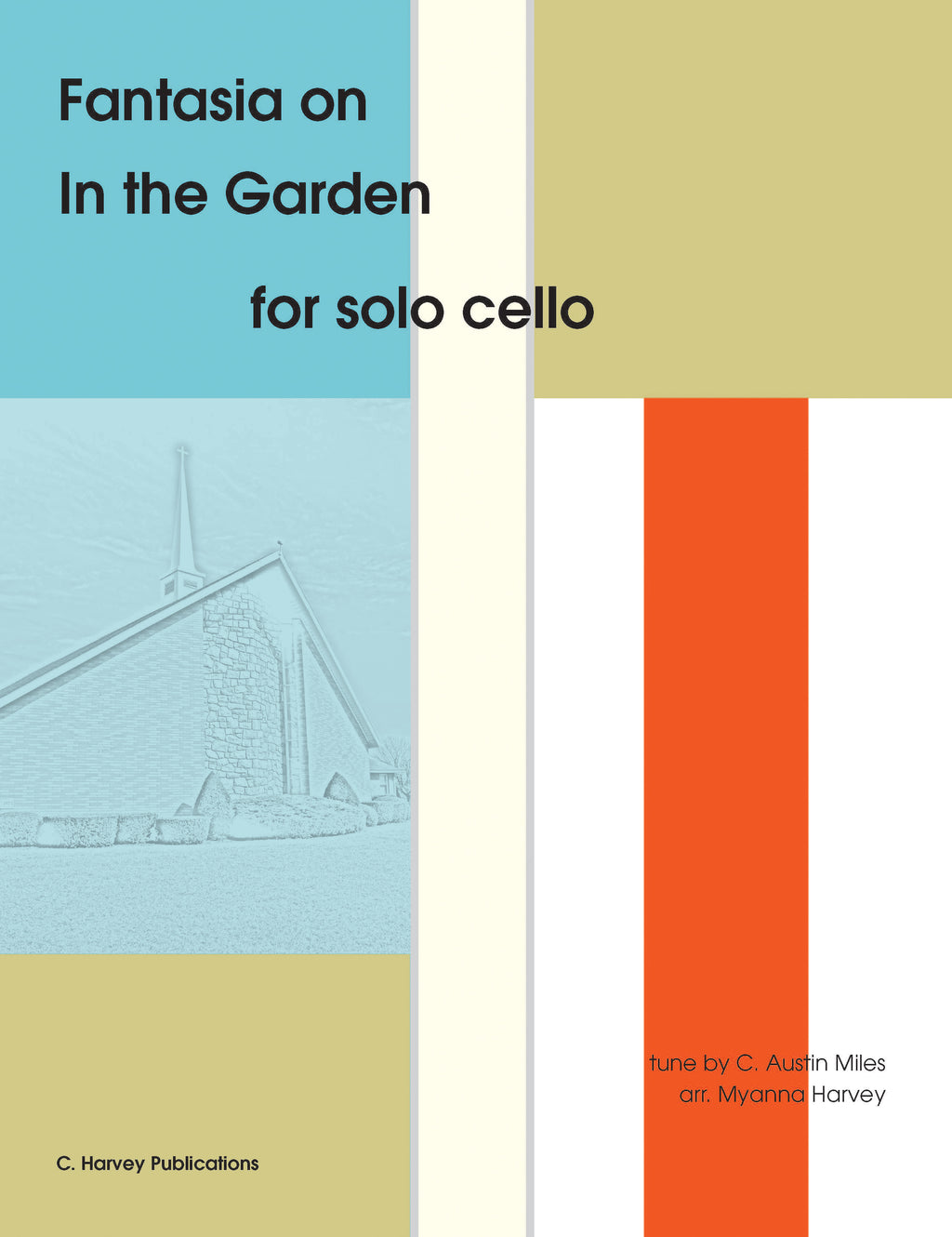 "Fantasia on ""In the Garden"" for Solo Cello - an Easter Hymn - PDF Download"