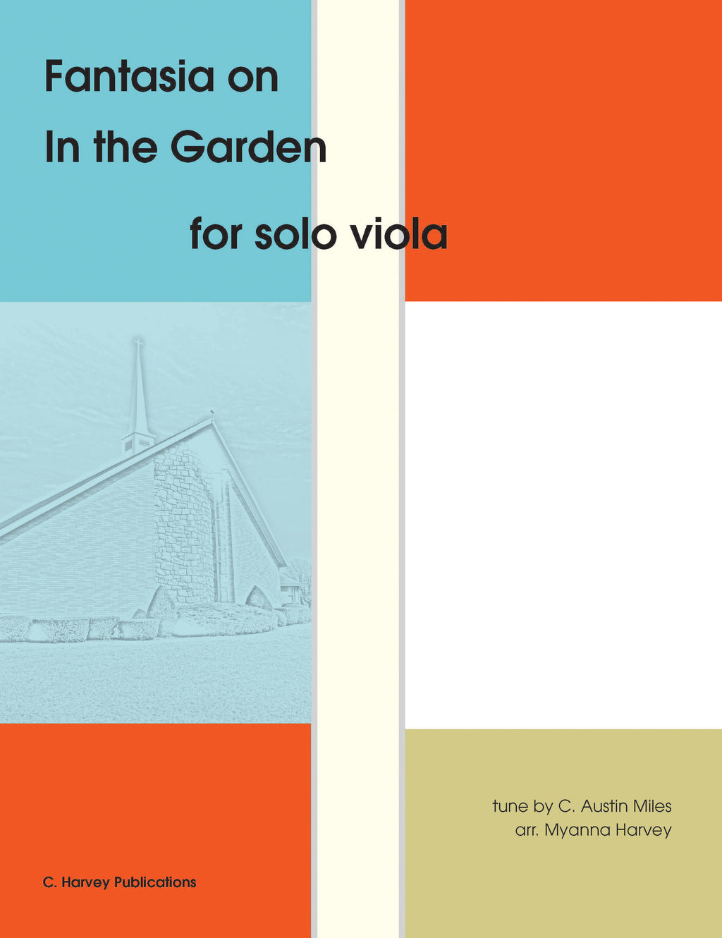 "Fantasia on ""In the Garden"" for Solo Viola - an Easter Hymn - PDF Download"