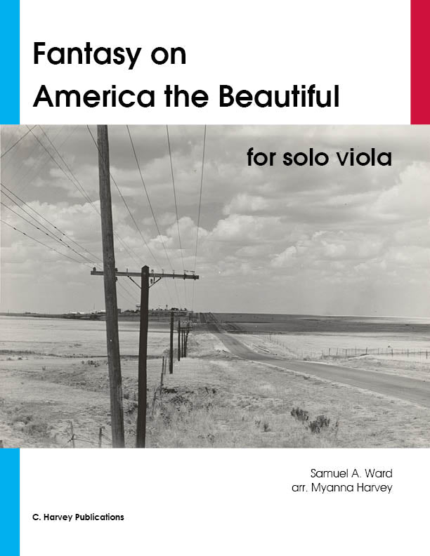 "Fantasy on ""America the Beautiful"" for Solo Viola - PDF Download"