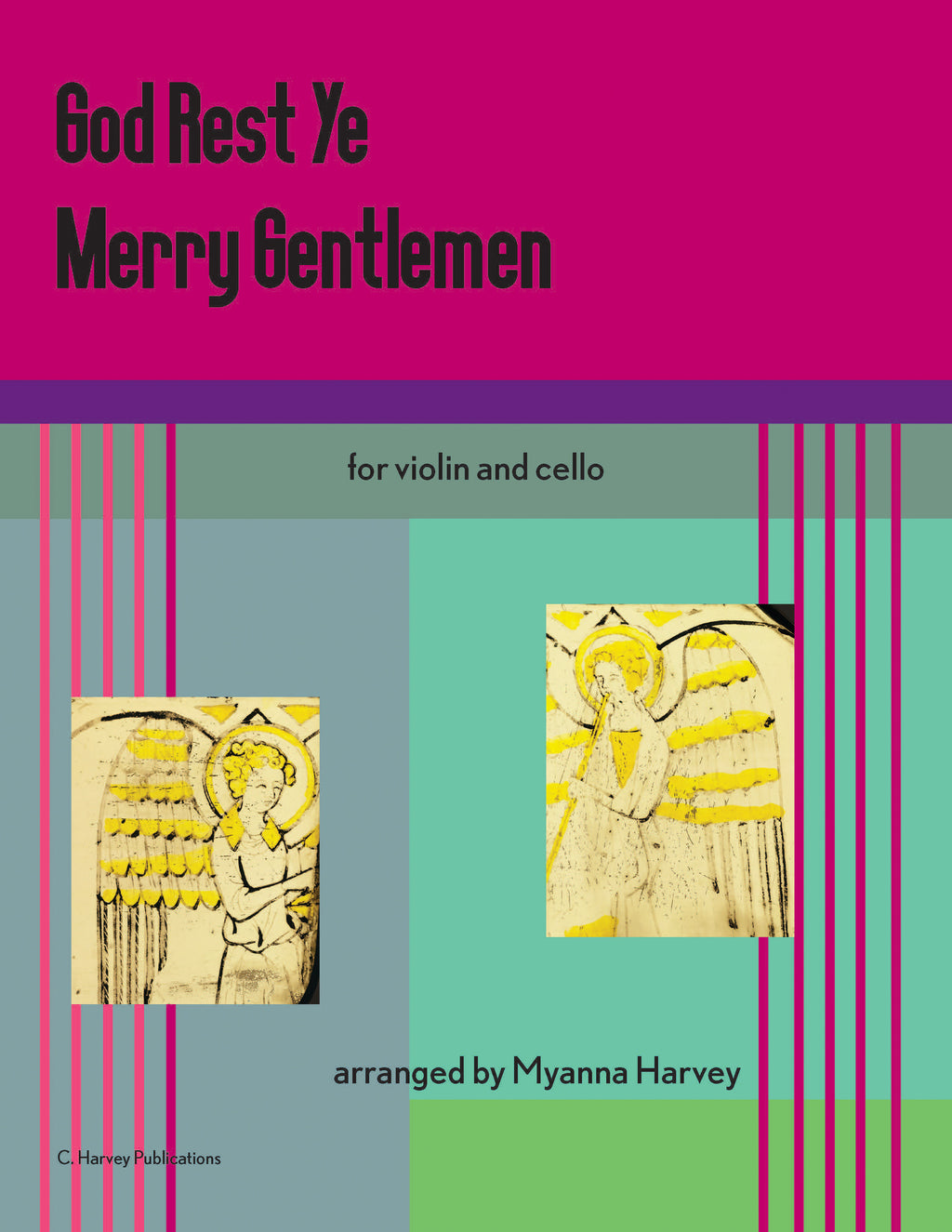 God Rest Ye Merry Gentlemen for String Duo - PDF download