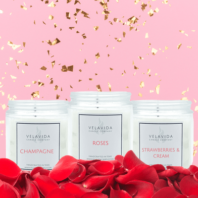 Valentine's Day 8oz Candle Bundle