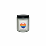 Velavida Candle Company Apple Scented Soy Based Candle, Cork Lid Candles with lead free wick for clean burn