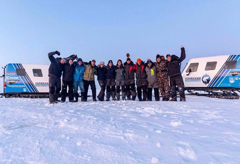 Team Tacklebox Lottery ( Taro Murata an Paul Castellano ) On Ice With 39hrs Crew!