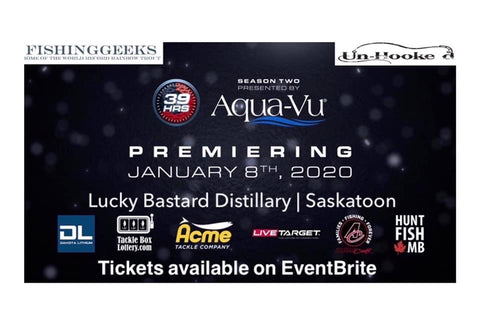 39hrs premiere party with The Fishing Geeks ( Konrad Brothers ) In Saskatoon
