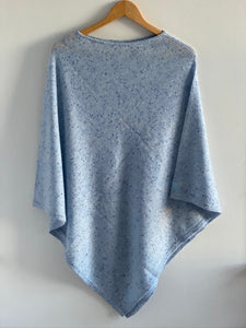 the poncho [powder blue]
