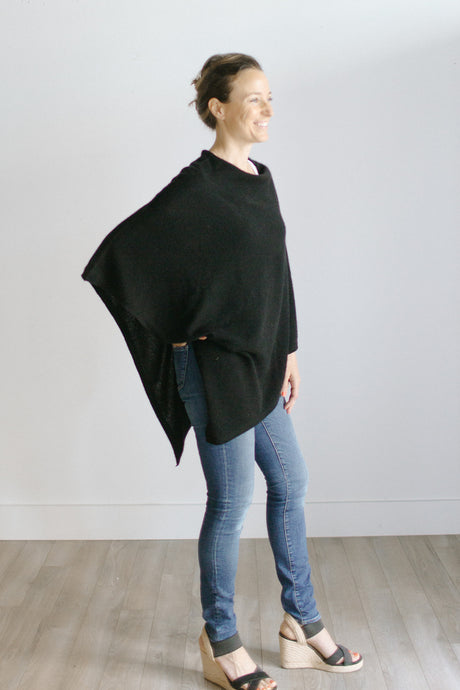 the poncho [black]