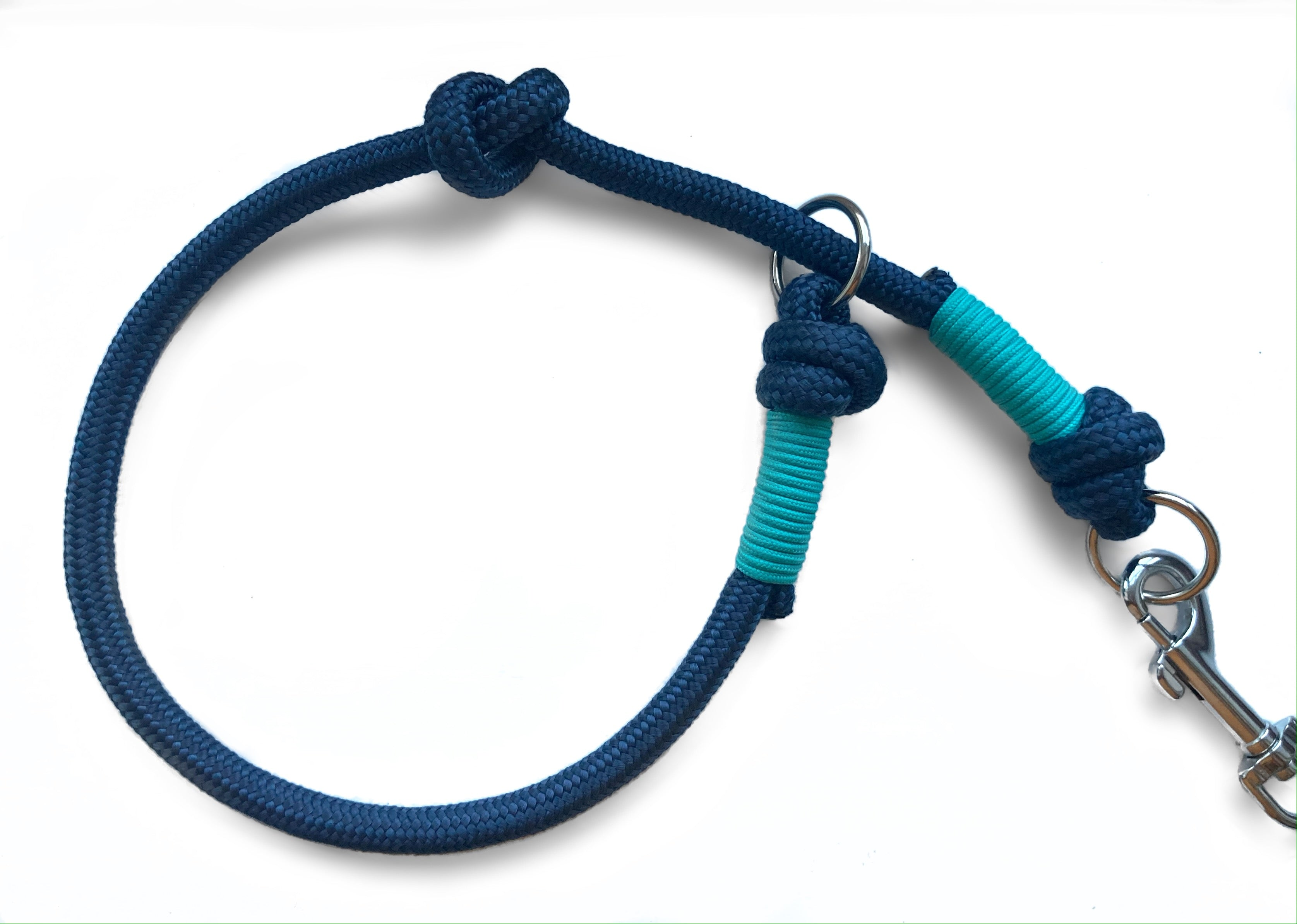 NEW - Customisable Navy Slip Lead Collar Attachment