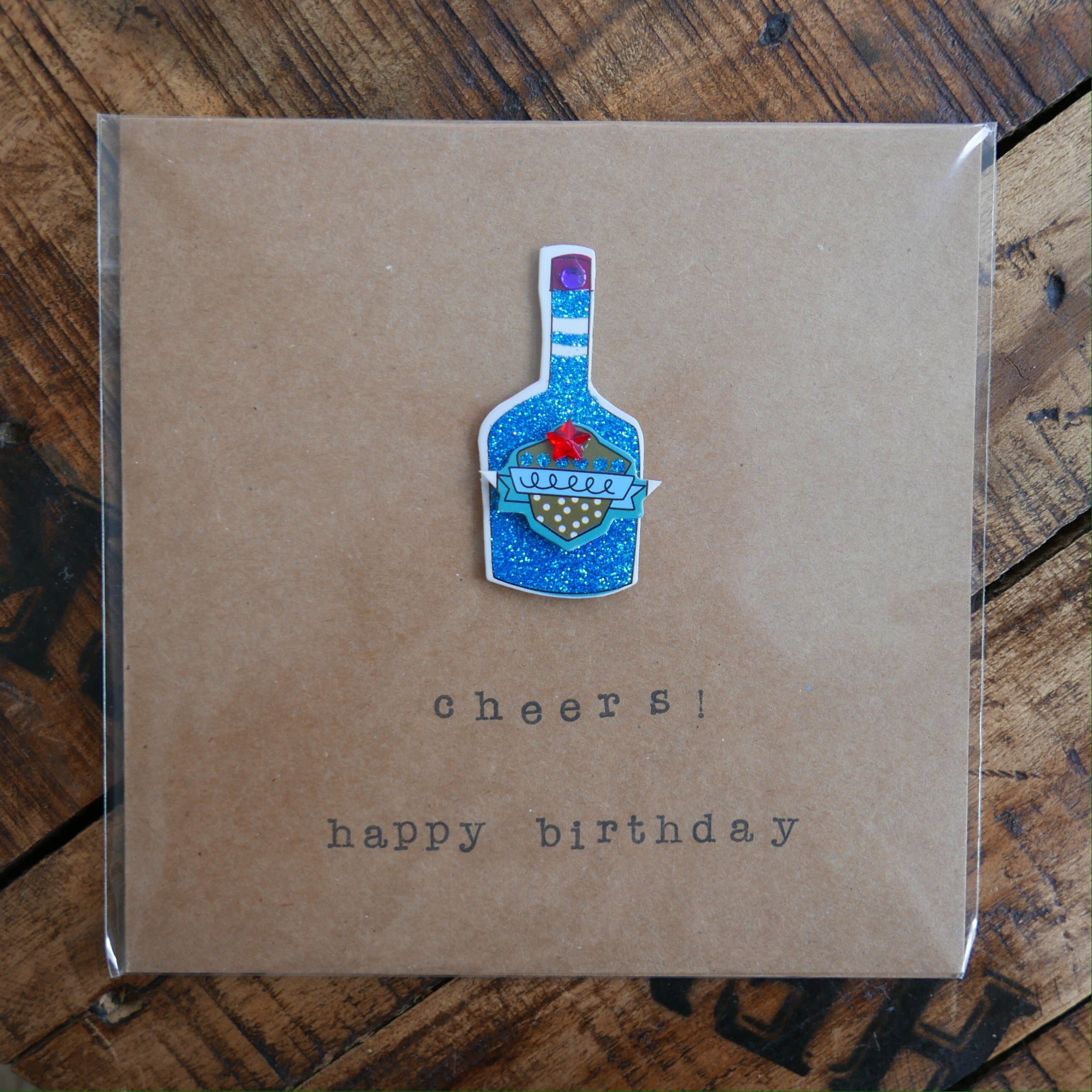 Cheers! Happy Birthday - Greeting Card