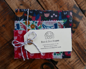 Beeswax food wraps - Set of 3 (option 2) : Chickens