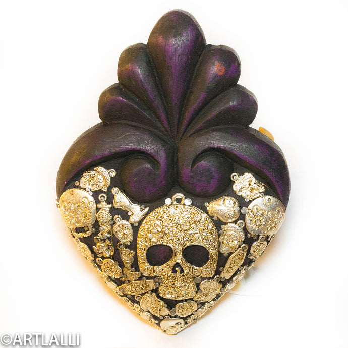 Wood Miracles Heart Catrina