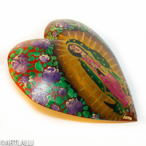 Wood Miracles Heart Round
