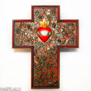 Wood Miracles Cross
