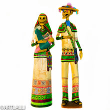 Load image into Gallery viewer, Catrina Couple Huicholes