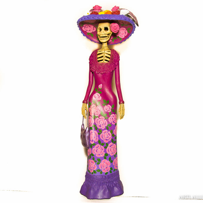 Catrina medium purple pink
