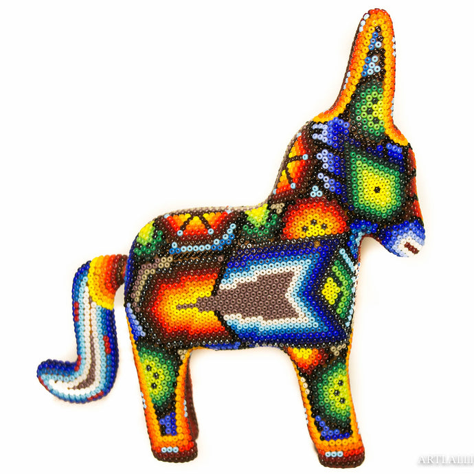 Huichol beaded miniature