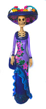Load image into Gallery viewer, Catrina Medium Pink Dress With Purple Handbag