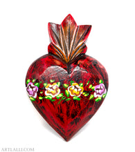 Load image into Gallery viewer, Wood Miracles Heart Oil Red