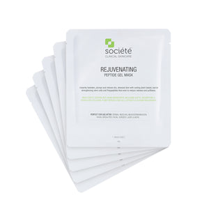 Societe Rejuvenating Peptide Gel Mask 5 pieces per Box